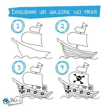 Disegni Da Colorare I Pirati