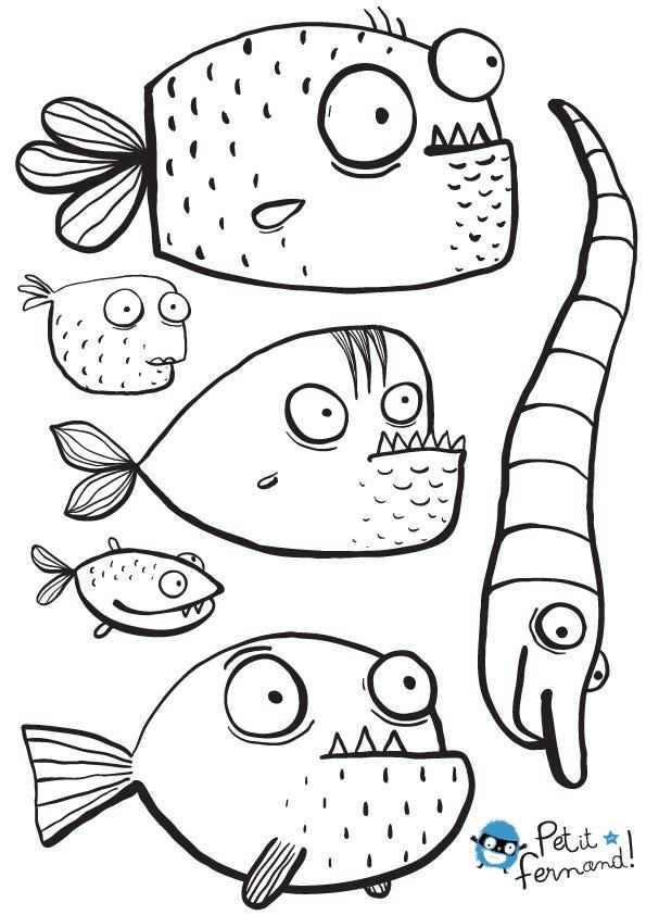 Pesce d 39 aprile da scaricare e stampare for Disegni da colorare pesce d aprile