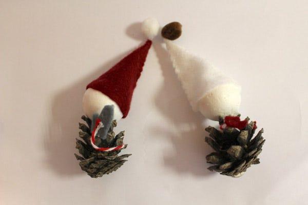 Elfi di Natale fai da te
