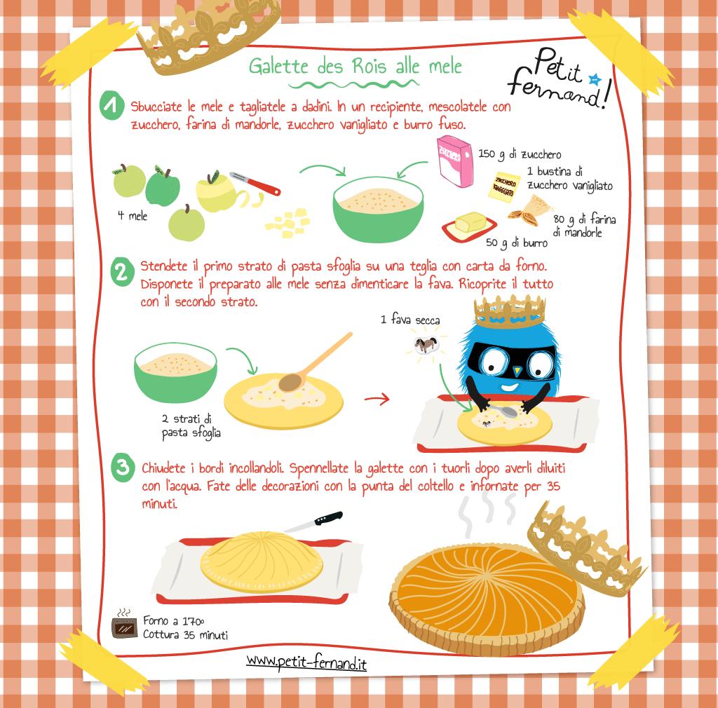 ricetta galette des rois