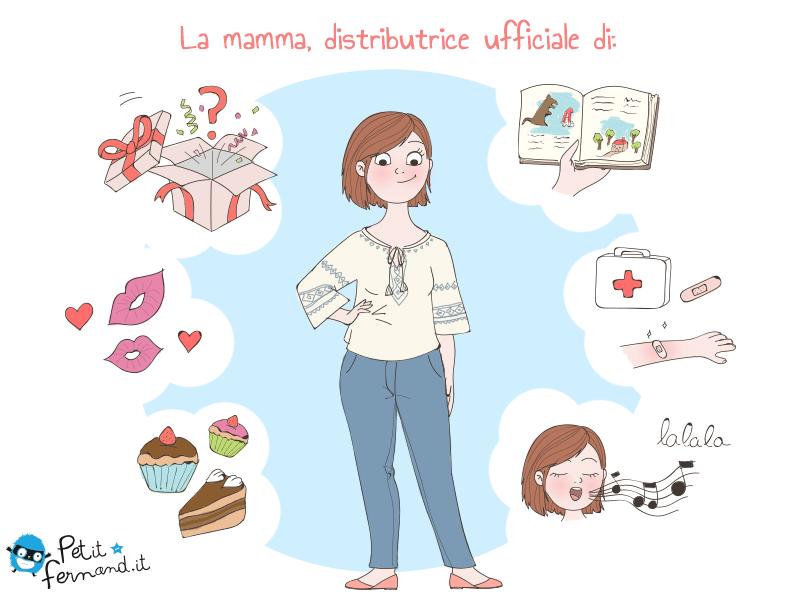 vignetta sulla mamma