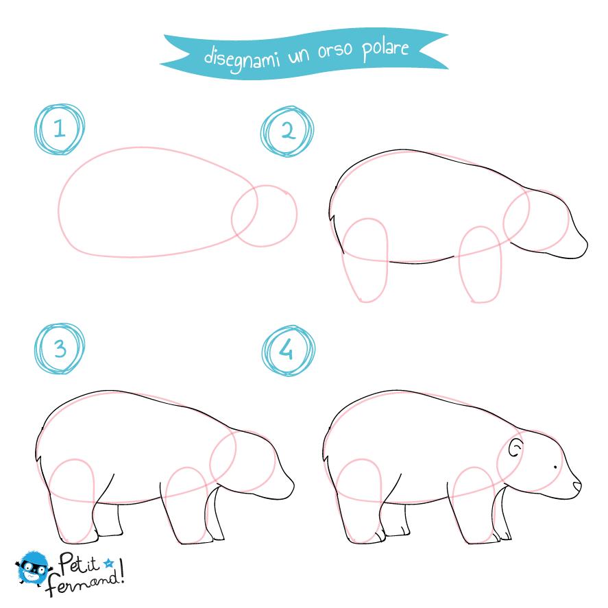 Come disegnare un orso - Momarte