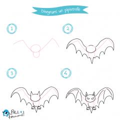 disegni da colorare pipistrello