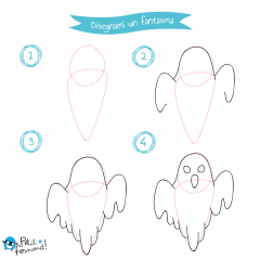 disegni da colorare fantasma