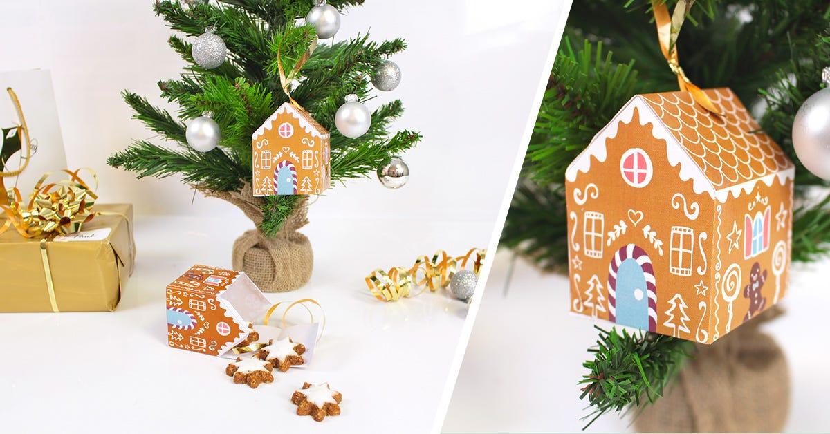 Casetta Di Natale Da Colorare : Lavoretti casette di pan di zenzero con sorpresa