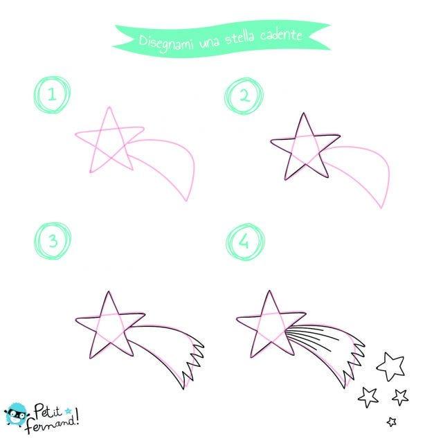 Disegno Stella Cometa