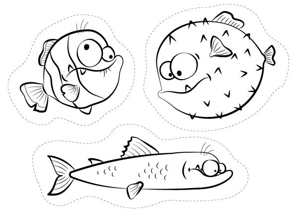 Disegni da colorare pesce d 39 aprile per fare scherzi divertenti for Immagini pesciolini