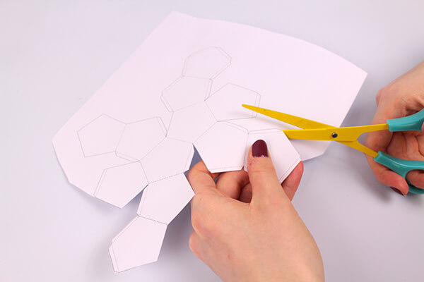 lavoretti decorazione ghirlanda origami