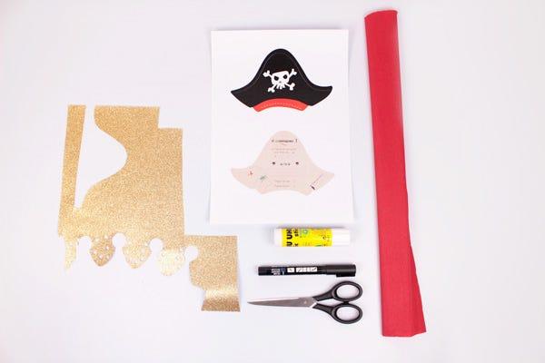 inviti di compleanno a tema pirati