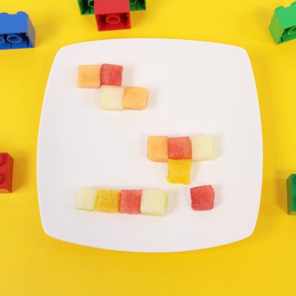 funfood insalata di frutta tetris