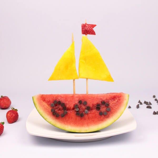 visual food barchetta frutta