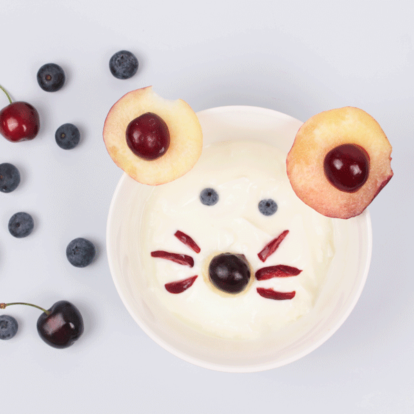 Ricetta per bambini yogurt topolino