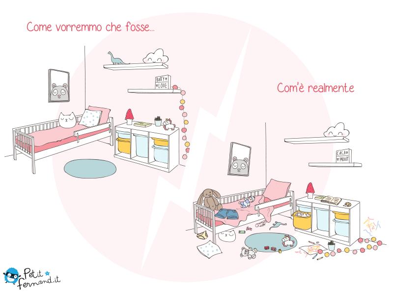 vignetta divertente sulla vita da genitori