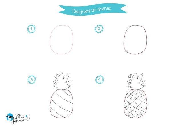 Disegni Da Colorare Ananas Petit Fernand It