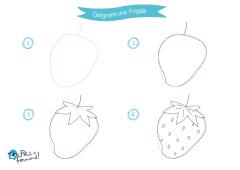 Disegni Da Colorare Per Bambini Come Disegnare La Frutta Petit Fernand