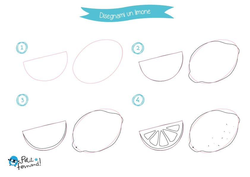Limoni Disegno: Disegni Da Colorare Limone