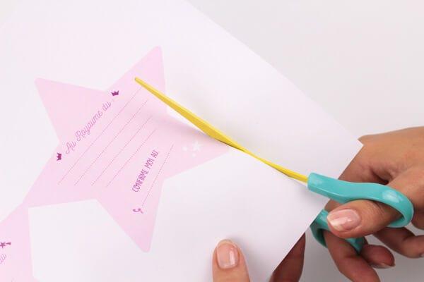 inviti di compleanno a forma di bacchetta magica