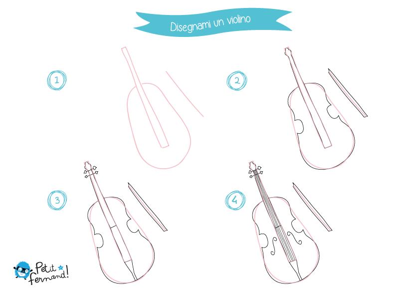 Disegno Del Violino