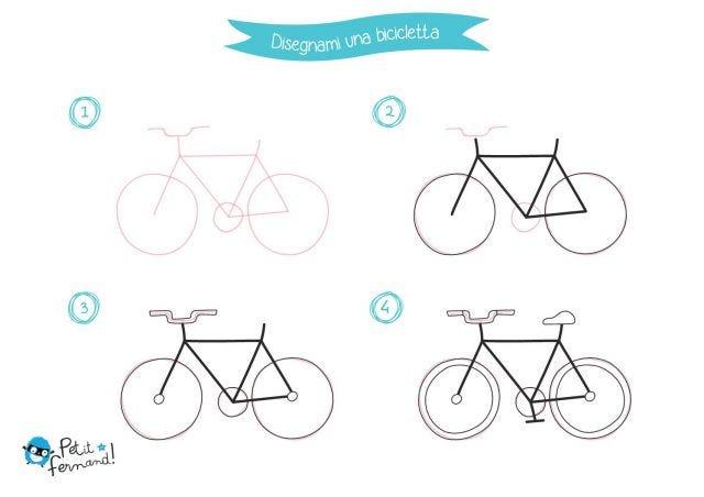 Disegno Della Bicicletta Petit Fernand It