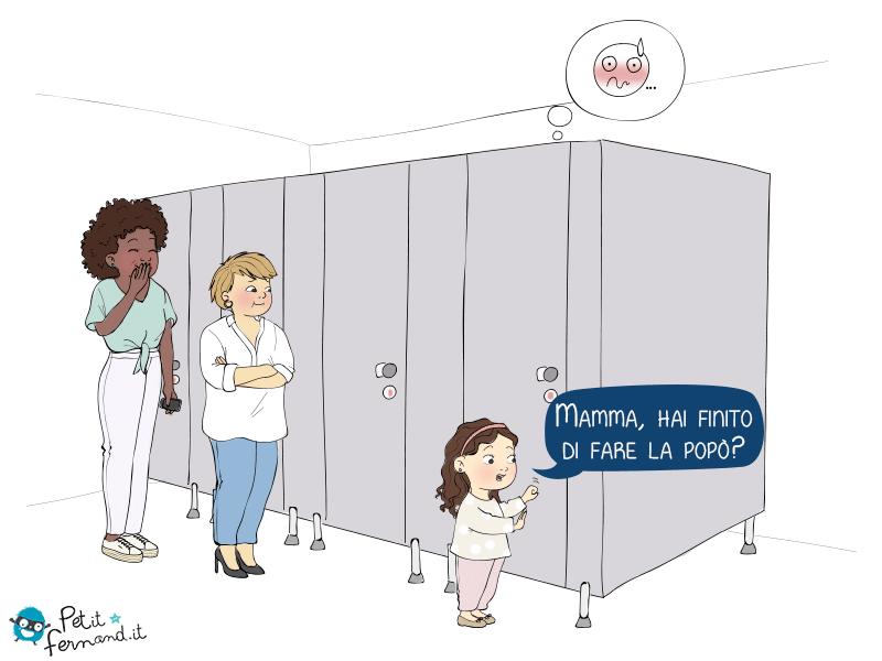 Al bagno pubblico coi bambini i petit fernand - Donne al bagno pubblico ...