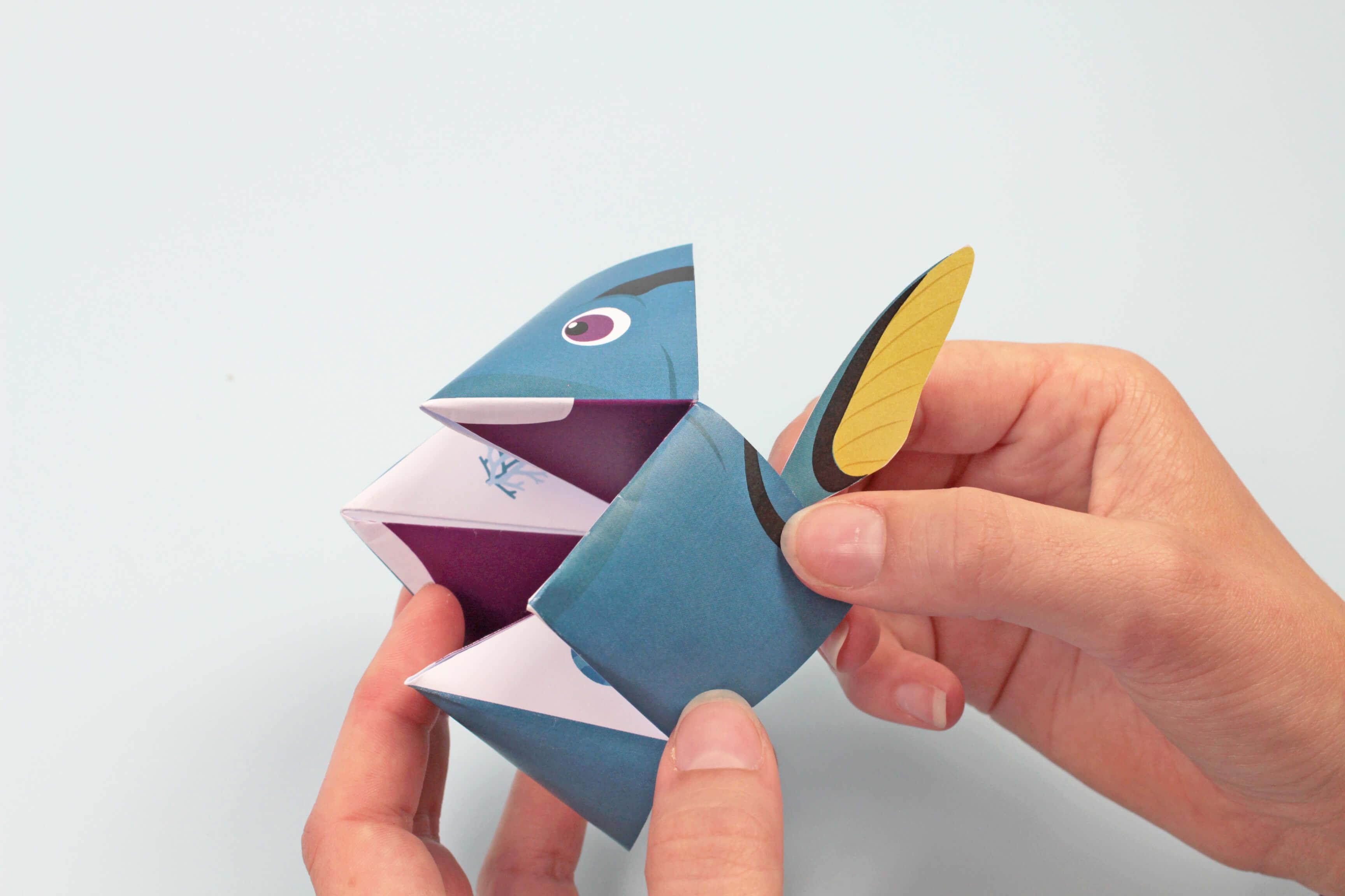 Origami Indovino A Forma Di Pesce I Tappa 8 Petit Fernand It