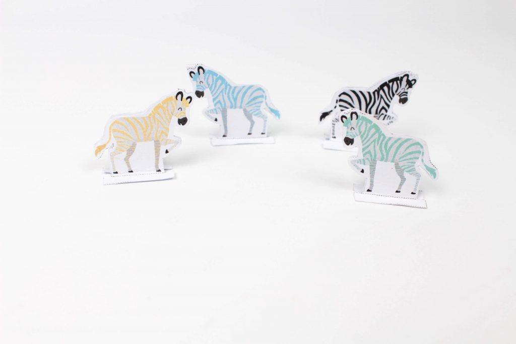 Il gioco delle piccole zebre