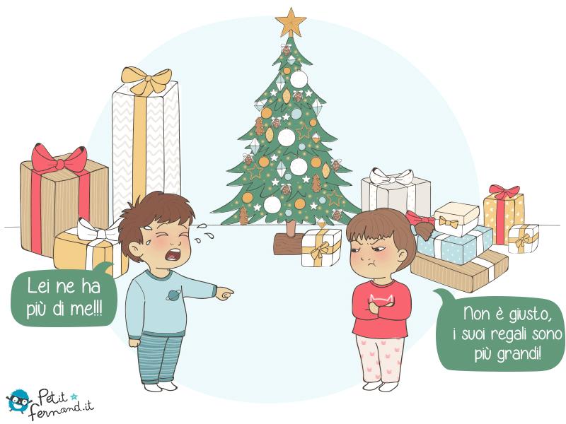 I regali sotto l'albero