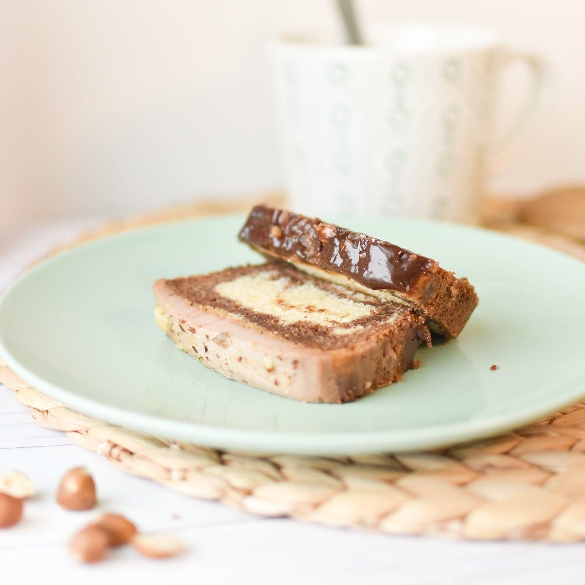 Fate ingelosire gli altri con la vostra super ricetta della torta marmorizzata alla nocciolata!