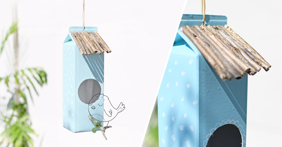 Per far cantare il proprio giardino, un nido per gli uccellini è quello che ci vuole!