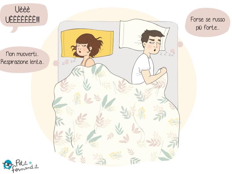 Avete presente i bei primi mesi dopo la nascita?