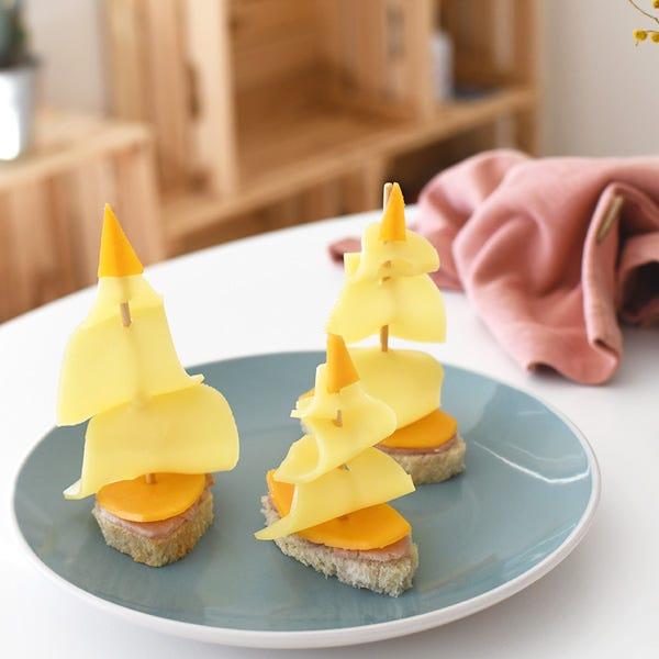 salpate al largo con questo sandwich a forma di nave!