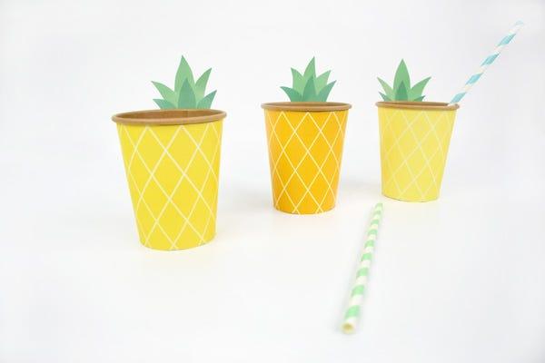 Bicchierini a forma di Ananas