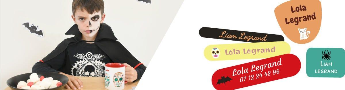 Per spaventare i vostri amici, scaricare gratuitamente le vostre maschere di Halloween da stampare: Zucca, Gatto nero, Fantasma, Tesco messicano o Ragno.