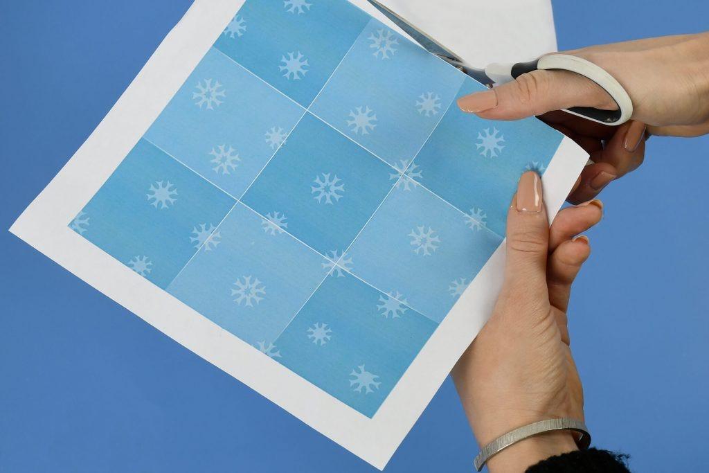 DIY gioco del Tris simbolo dell'inverno per piccini e grandi !