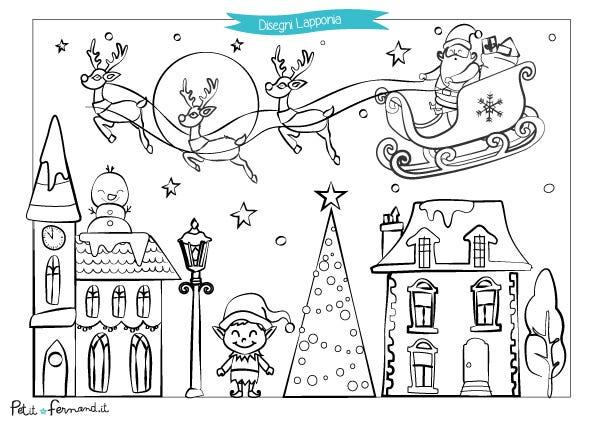Ritrovate i nostri disegni da colorare sul tema di Natale !