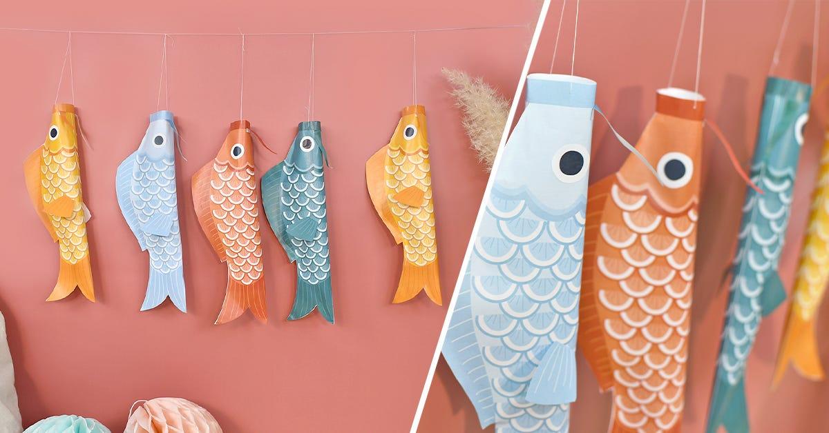 Un laboratorio divertente e coloratissimo per creare delle belle decorazioni insieme ai vostri bimbi.