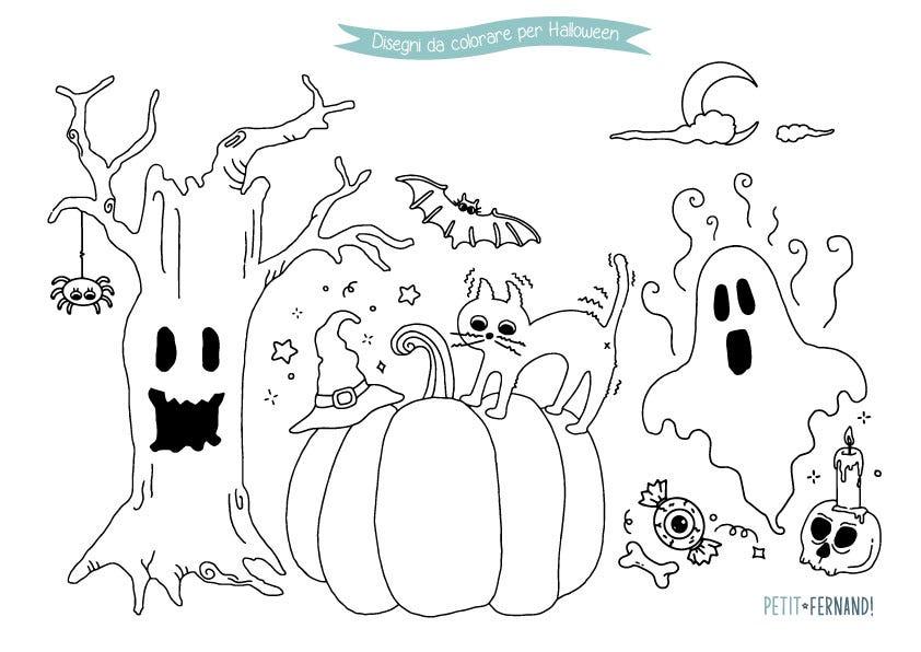 Colorare Halloween