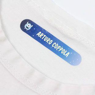 arte squisita rivenditore di vendita seleziona per il più recente Le nostre etichette termoadesive per vestiti